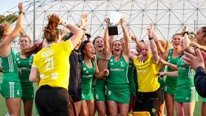 Ireland celebrate their victory