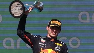 Max Verstappen increased his lead over Lewis Hamilton to 12 points