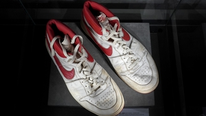Michael Jordan gifted his shoes to Tommie Tim III Lewis, who was a ball boy for the Denver Nuggets during the 1984-85 season