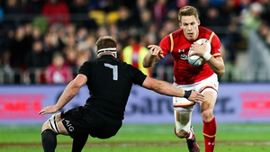 The Welsh full-back is in a race against time for Saturday's test