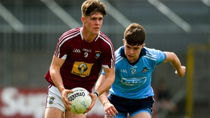 Fionn O'Hara pictured playing for Westmeath minors against Dublin in 2019