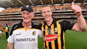 Brian Cody (L) and Henry Shefflin won 10 All-Irelands together with Kilkenny