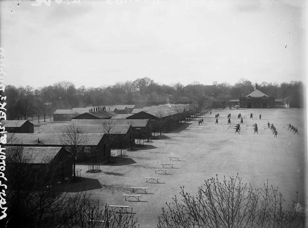 Marlborough Barracks where the trial took place Photo: National Library of Ireland via National Archives of Ireland