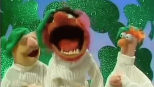 "The Leprechaun Brothers (AKA The Swedish Chef, Animal and Beaker) perform ""Danny Boy"""