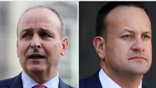 Micheál Martin reportedly said in his letter to Leo Varadkar that the 'responsible thing to do is to end speculation' over an election date