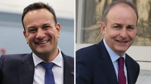 Leo Varadkar and Micheál Martin are due to meet next week