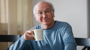 "Larry David from Curb Your Enthusiasm: ""some of the best examples of comedic music are to be found in the scores and soundtracks to comedy films and TV shows"""
