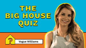 Vogue Williams is the quizmaster for episode one of The Big House Quiz