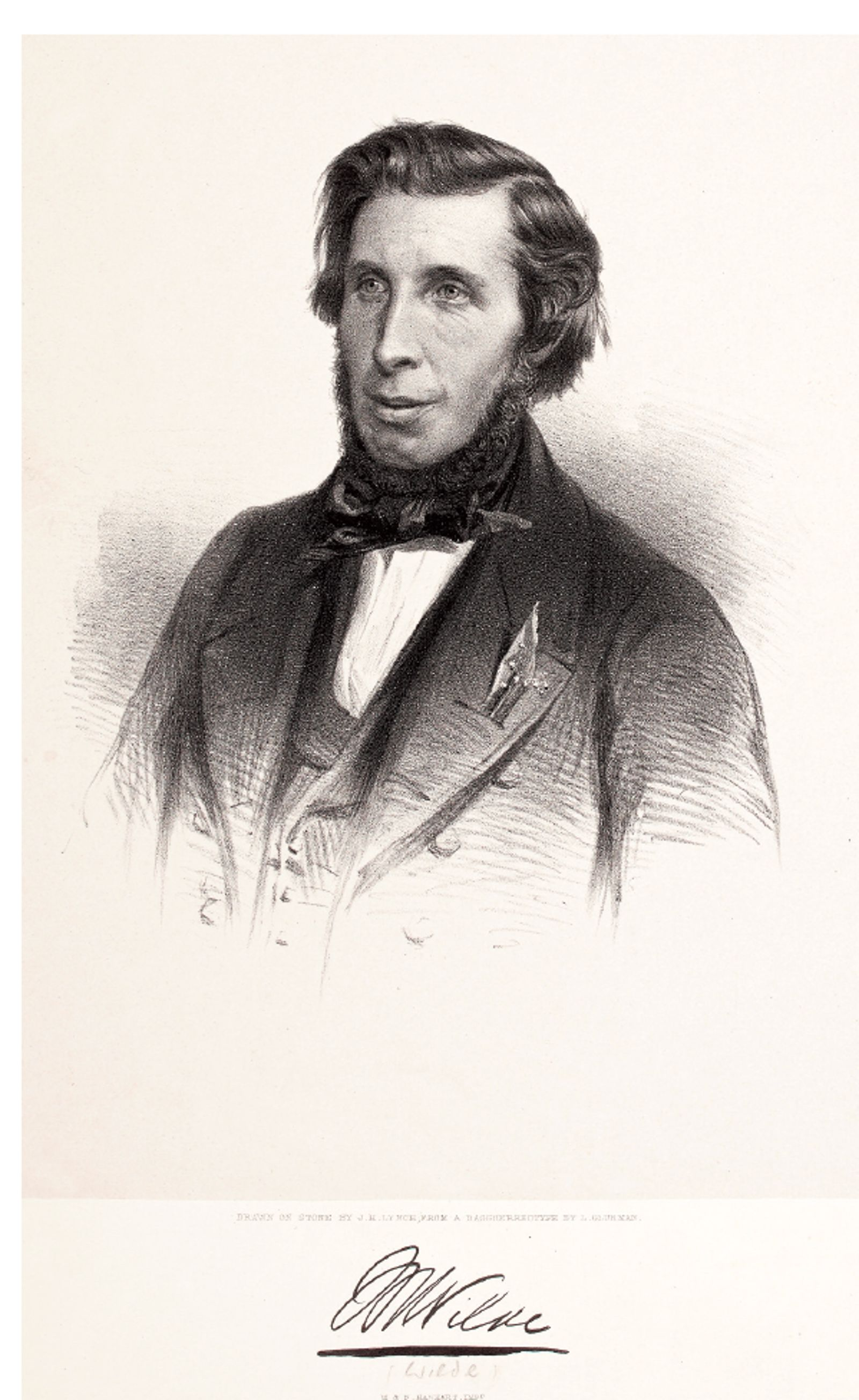 Image - Sir William Wilde. Image courtesy of the National Library of Ireland