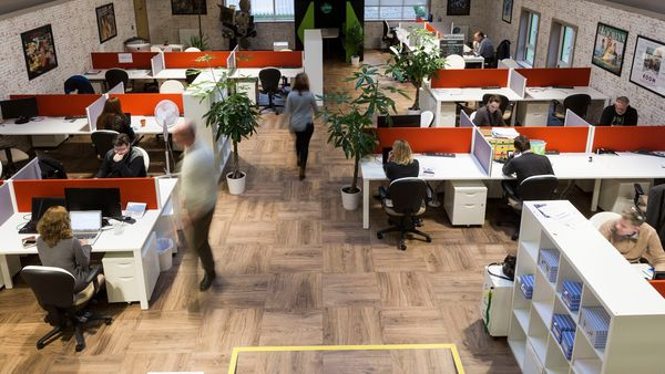 Inside the Ludgate digital hub in west Cork, one of hundreds of such centres around Ireland