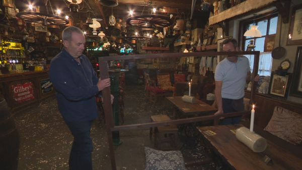 Frank and Tom O'Connor, who run the family's pub in Galway's Salthill, have put several measures in place