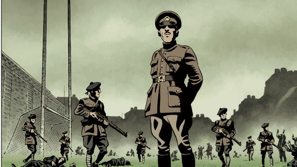 From Croke Park 21 Novembre 1920: Dimanche Sanglant à Dublinby Sylvain Gâche and Richard Guérineau. Copyright: 2020 Groupe Delcourt, Éditions Delcourt