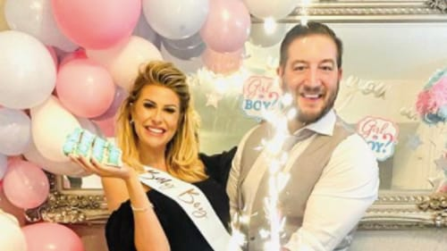 Cleaning queen Mrs Hinch reveals she is expecting a brother for her son Ronnie / Image: Instagram @mrshinchhome
