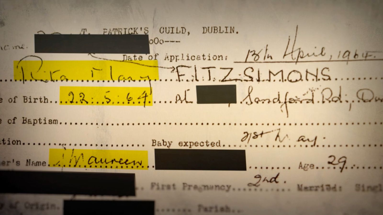 Image - Mary was officially registered as if she was her adoptive parents' biological daughter