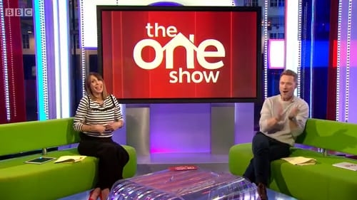 """Alex Jones is congratulated by Ronan Keating on Thursday's edition of The One Show - """"Baby number three is on the way"""" Screengrab: BBC/Twitter"""