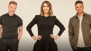 Ronan Keating, Alex Jones and Jermaine Jenas