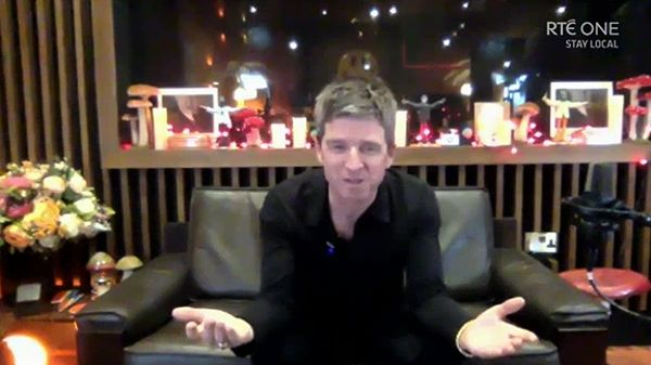"""Noel Gallagher - """"The one thing that she requested was, we had a garden gate which was really squeaky and she said, 'If you could just change the gate...'"""""""