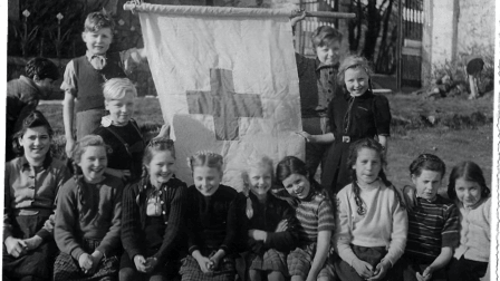 Some of the 400 German children who were brought to Ireland as part of Operation Shamrock. Photo: Glencree Centre for Peace and Reconciliation Archives