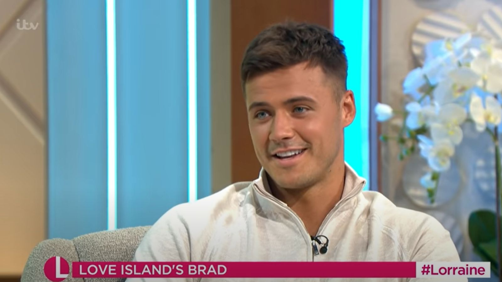 Love Island's Brad finds long-lost sister after present