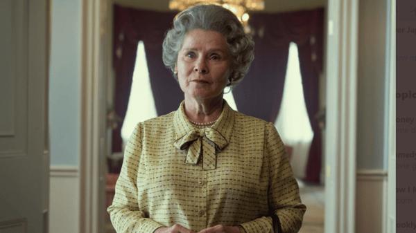 Imelda Staunton began filming as The Crown's Queen Elizabeth II earlier this month Photo: Netflix/Left Bank