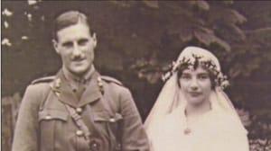 Major Compton-Smith and wife Gladys Mary Lloyd, 1916