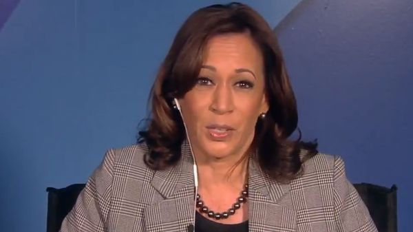 Kamala Harris on The View on Friday Screengrab: The View/ABC