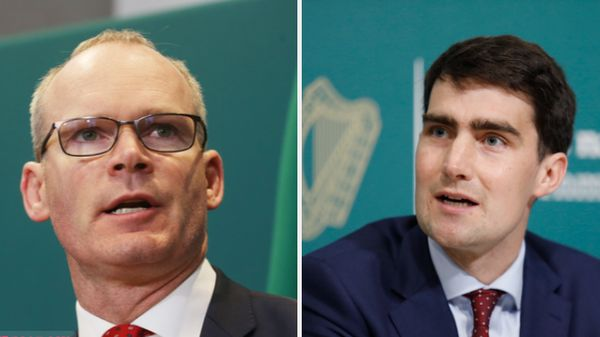 Simon Coveney (L) and Jack Chambers will attend the event in Armagh